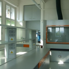 Smaller part of laboratory in 2008